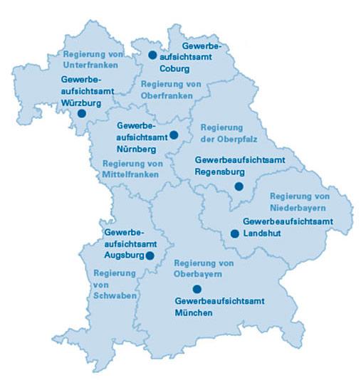 Kontakt Zur Bayerischen Gewerbeaufsicht Internetangebot
